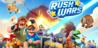 RUSH WARS GAMEPLAY